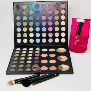 Macy's large eyeshadow palette/cosmetic brushes